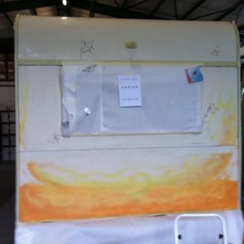 Acrylmalerei-Wohnmobil