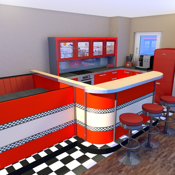 Wohnraumgestaltung-3D-Visiualisierung