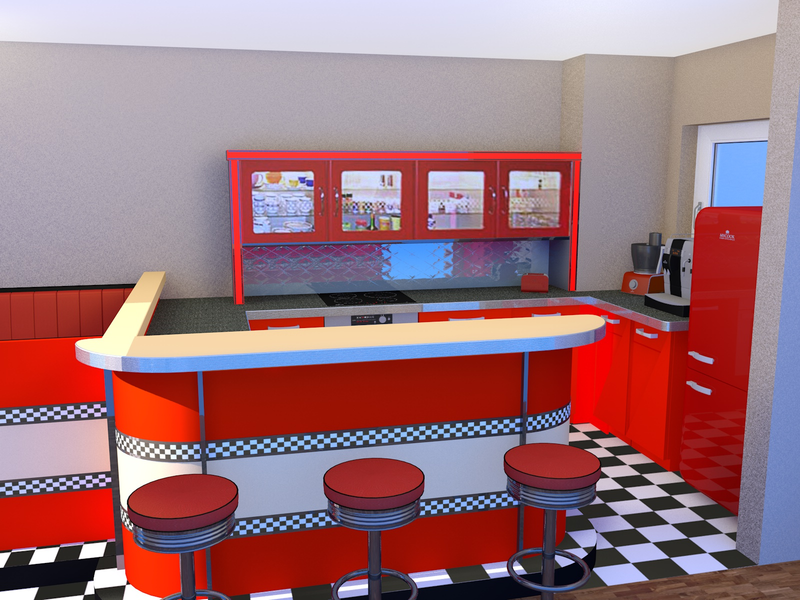 Wohnraumgestaltung-3D-Visiualisierung - Air-Atelier